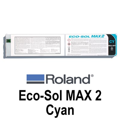 Eco-Sol MAX 2 Ink, 440cc CYAN Cartridge