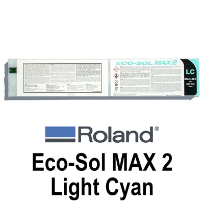 Eco-Sol MAX 2 Ink, 440cc LIGHT CYAN