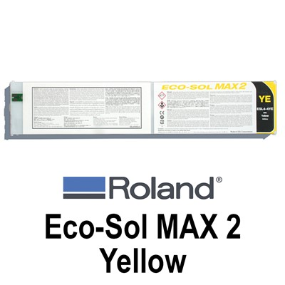 Eco-Sol MAX 2 Ink,440cc YELLOW Cartridge