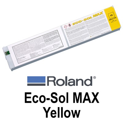 Eco-Sol MAX Ink,440cc YELLOW Cartridge