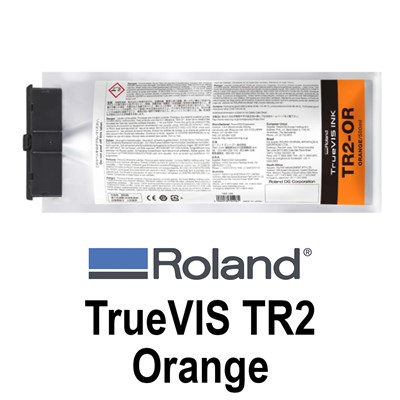 TrueVIS TR2 Ink Orange 500ml pouches