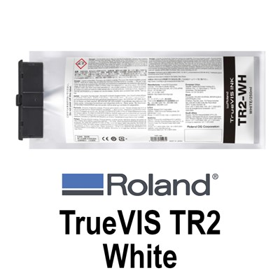 TrueVIS TR2 Ink White 250ml pouches