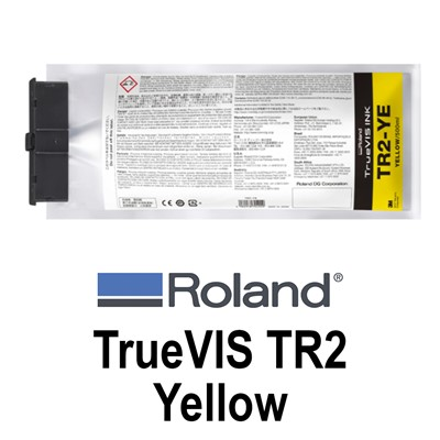 TrueVIS TR2 Ink Yellow 500ml pouches