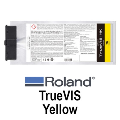TrueVIS Ink 500ml YELLOW pouch