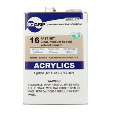 SciGrip 16 Med-Body Acrylic Cement Gal