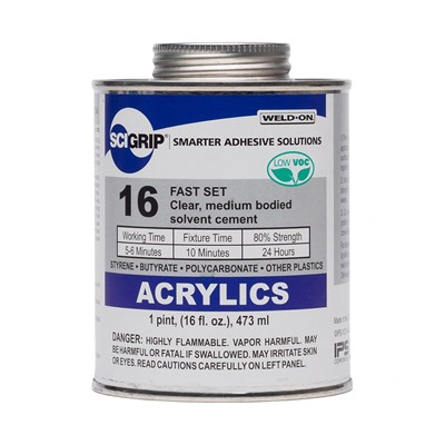 SciGrip 16 Med-Body Acrylic Cement Pint