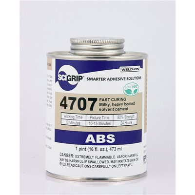 SciGrip 4707 Heavy Syrup ABS Cement Pint