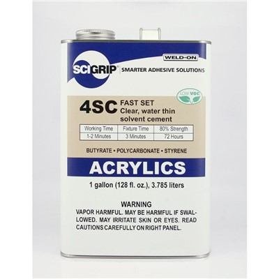 SciGrip 4SC Water-Thin Acrylic Cement 1G