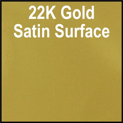 15in 22K GOLD SATIN SURFACE(Thermal)