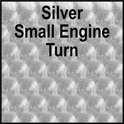 15in SILVER SMALL ENGINE TURN(Thermal)