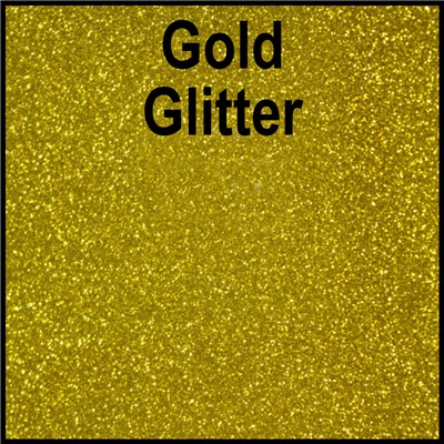 20in GOLD Glitter Heat Transfer