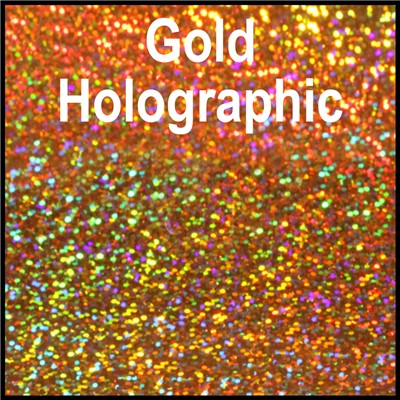 20in GOLD Holographic Heat Transfer