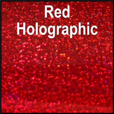 20in RED Holographic Heat Transfer