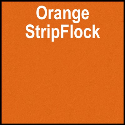 15in ORANGE StripFlock Heat Transfer