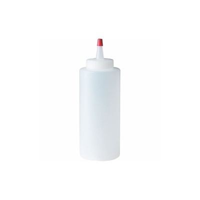 PLASTIC SQUEEZE BOTTLE 8oz