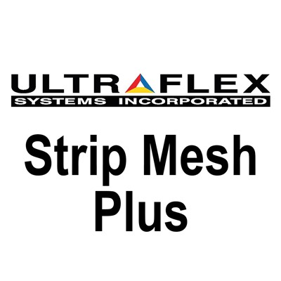 54in x 164ft 8oz STRIP MESH PLUS Banner