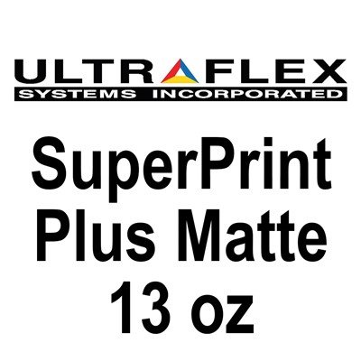 126inX164ft 13oz MATTE SUPERPRINT Banner