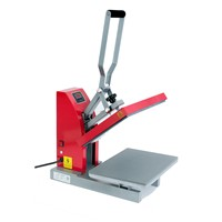 11x15 Red Siser Digital Clam Heat Press