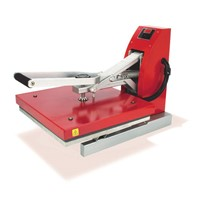 15 x15 Red Siser Digital Clam Heat Press